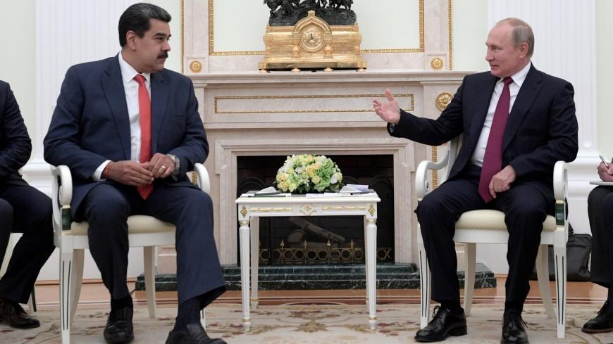 Путин и Мадуро обсудили развитие партнерских отношений стран и борьбу с коронавирусом
