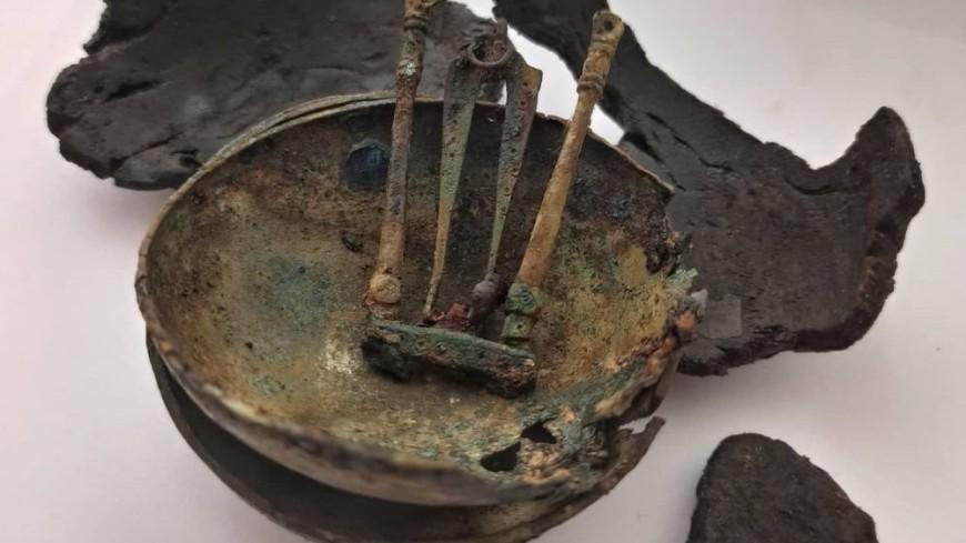 В Пскове раскопали весы тысячелетней давности