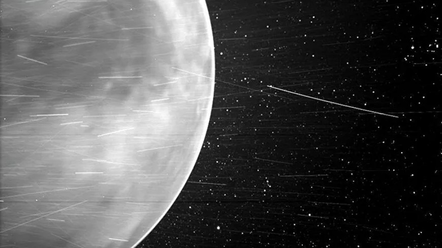 Зонд Parker впервые заснял ночное свечение Венеры