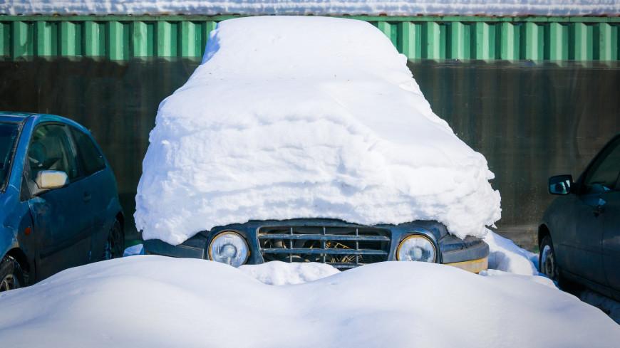 Зима в городе (снег, сугроб, холод, мороз)