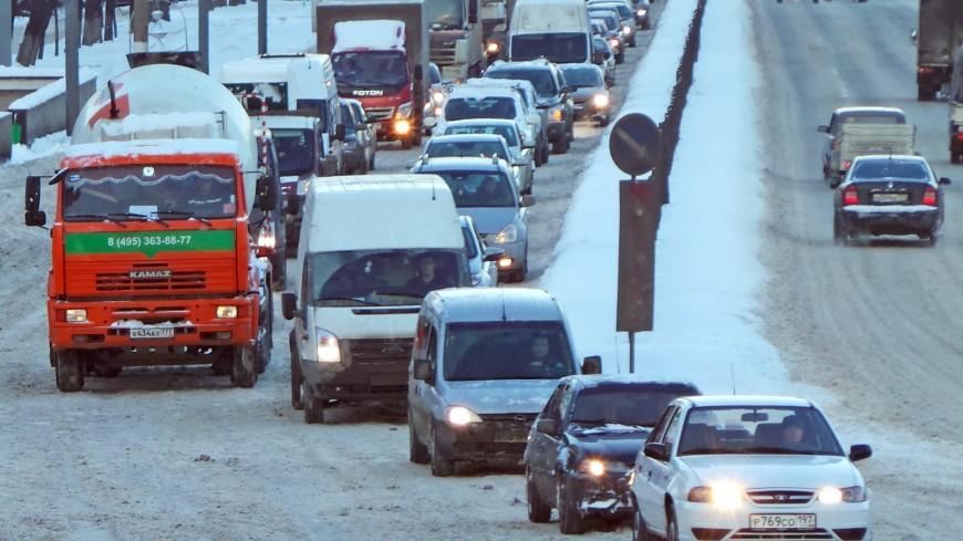 ДТП на шоссе Энтузиастов в Москве: движение в сторону области затруднено