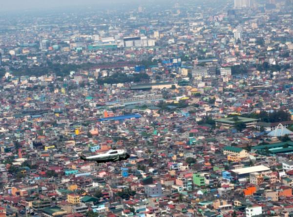 На юге Филиппин разбился военный вертолет