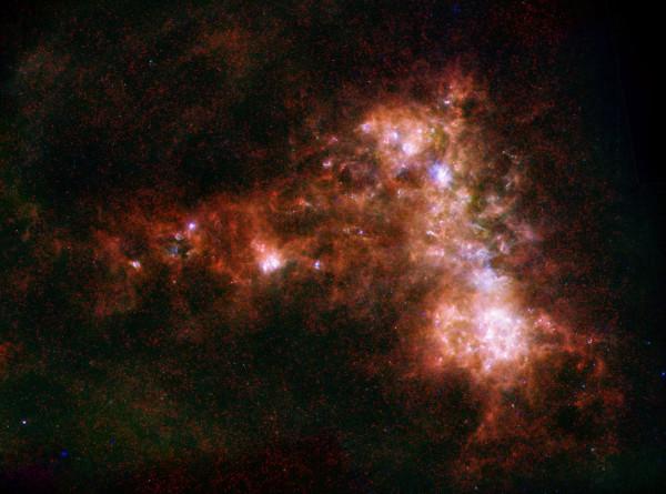 В ранней Вселенной нашли «колыбель» галактик