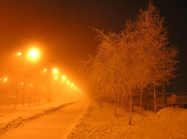 В Москве зафиксирована самая холодная ночь зимы