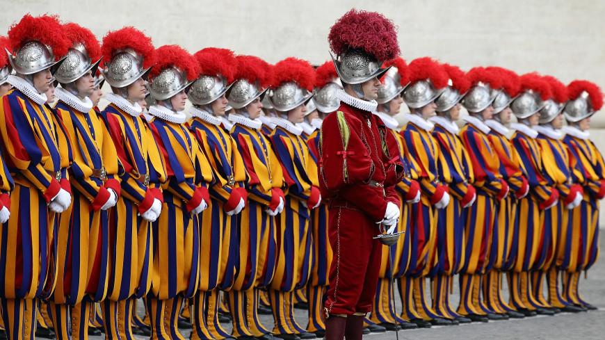 В Ватикане 515 лет назад была образована Швейцарская гвардия