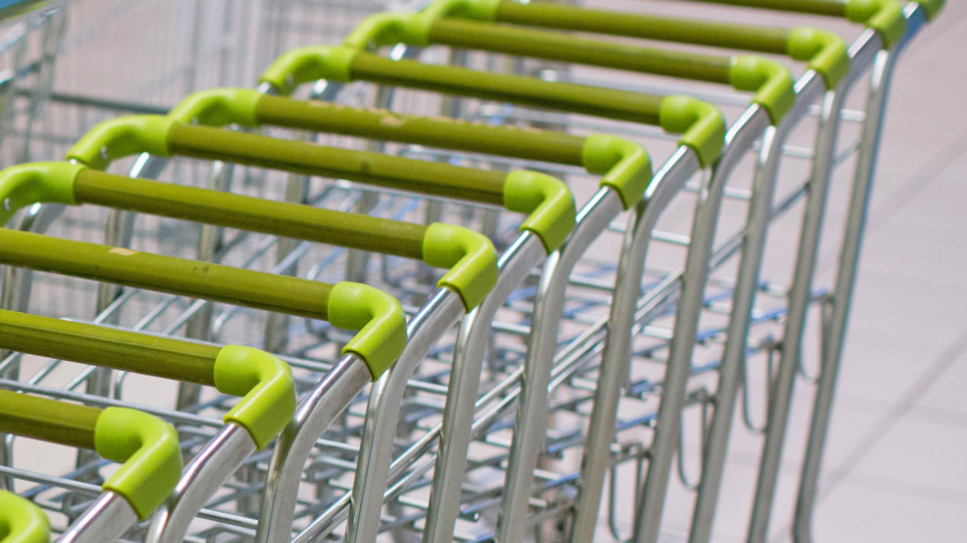 """Фото: Алексей Верпека (МТРК «Мир») """"«Мир 24»"""":http://mir24.tv/, тележка, магазин, магазины, распродажа, sale"""