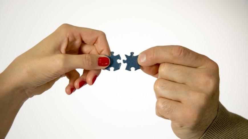 Отношения,пазл, пазлы, отношения, мужчина, женщина, расставание, развод, любовь, брак, семья,