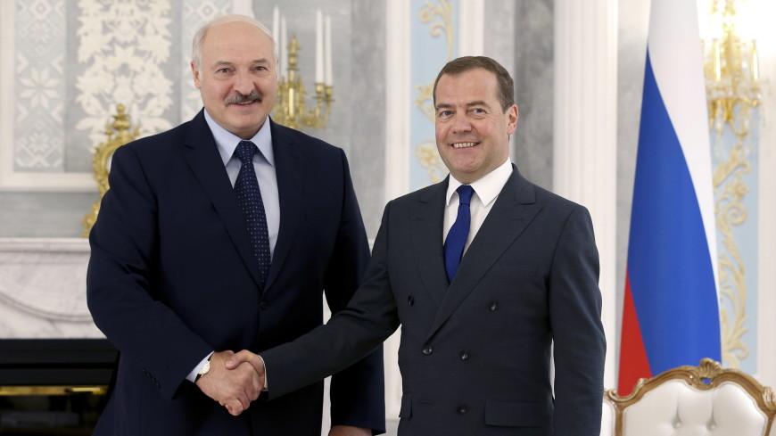 Лукашенко и Медведев обсудили актуальные вопросы белорусско-российского сотрудничества