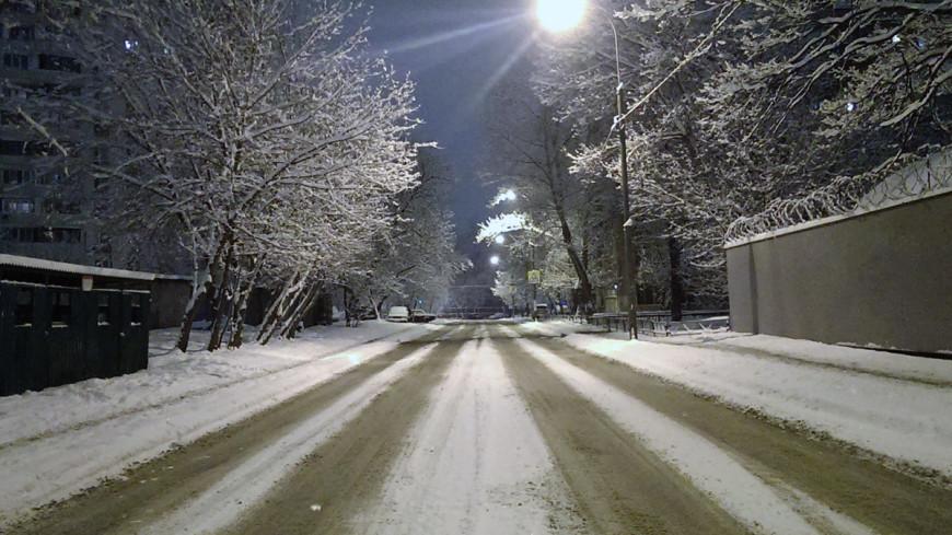 "Фото: Елизавета Шагалова, ""«МИР 24»"":http://mir24.tv/, москва, улица, ночь, зима, дорога, вечер"