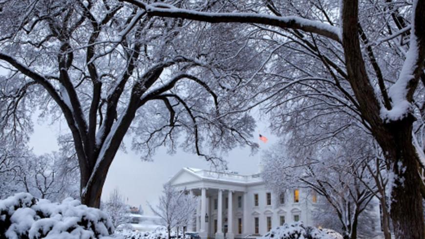 """Фото: """"Pete Souza, whitehouse.gov"""":http://whitehouse.gov, снег, белый дом, зима в сша, зима"""