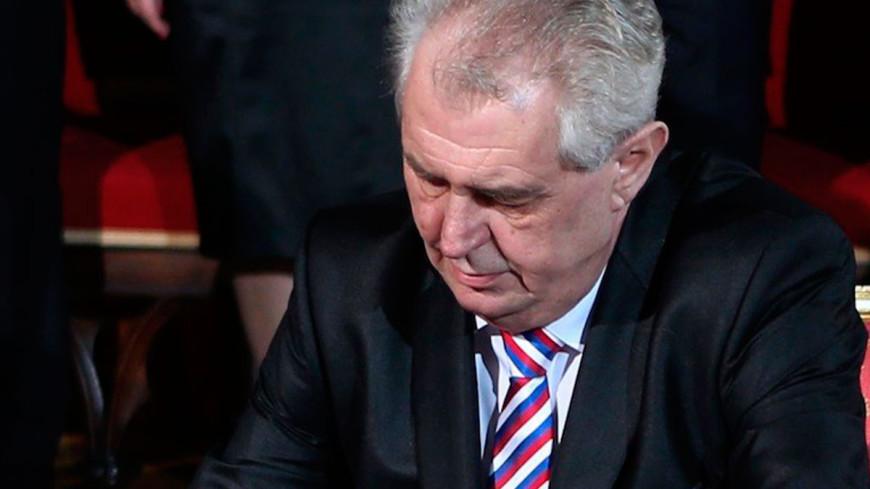"Фото: ""Официальный сайт президента Чехии"":http://www.hrad.cz/en/, земан, милош земан"