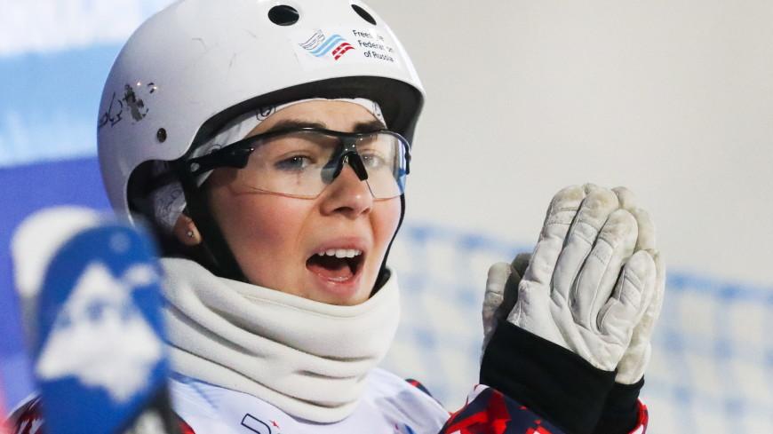 Россиянка Никитина стала третьей в лыжной акробатике на этапе КМ по фристайлу