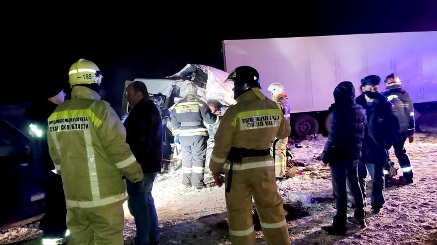 ДТП в Самарской области: 11 пострадавших находятся в реанимации