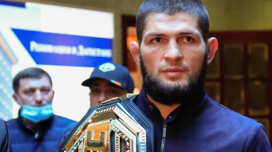 UFC признал «треугольник» Нурмагомедова лучшим приемом года