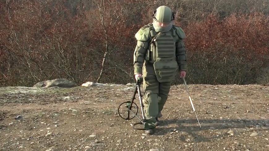 Российские пиротехники обезвредили в Карабахе больше 13,5 тысяч беоприпасов