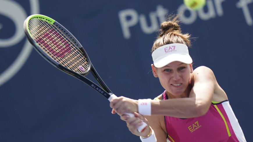 Теннисистки Кудерметова и Соболенко сыграют в финале турнира WTA в Абу-Даби