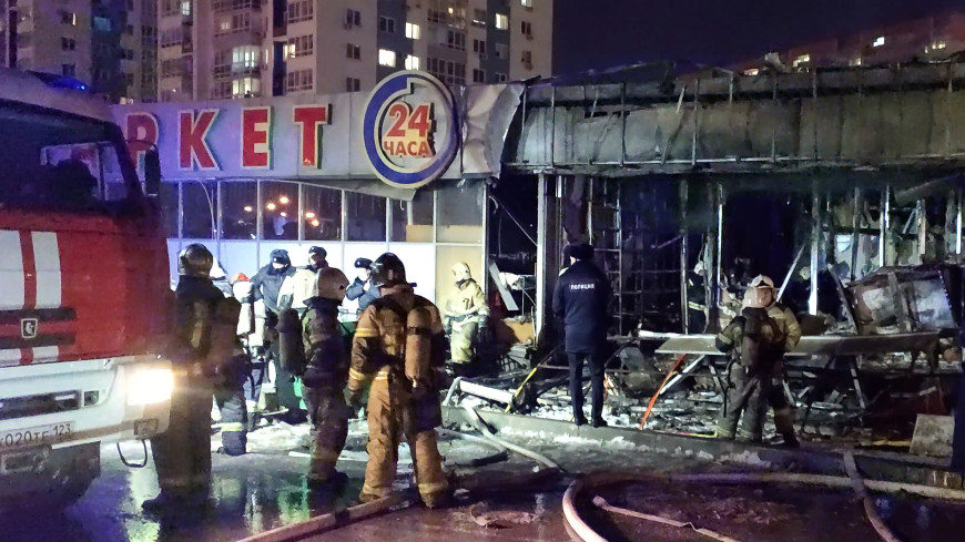 Раненый во время взрыва газового баллона на рынке в Краснодаре получил ожог 80% тела