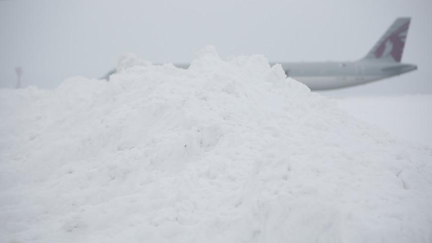 аэропорт, домодедово, снег, зима