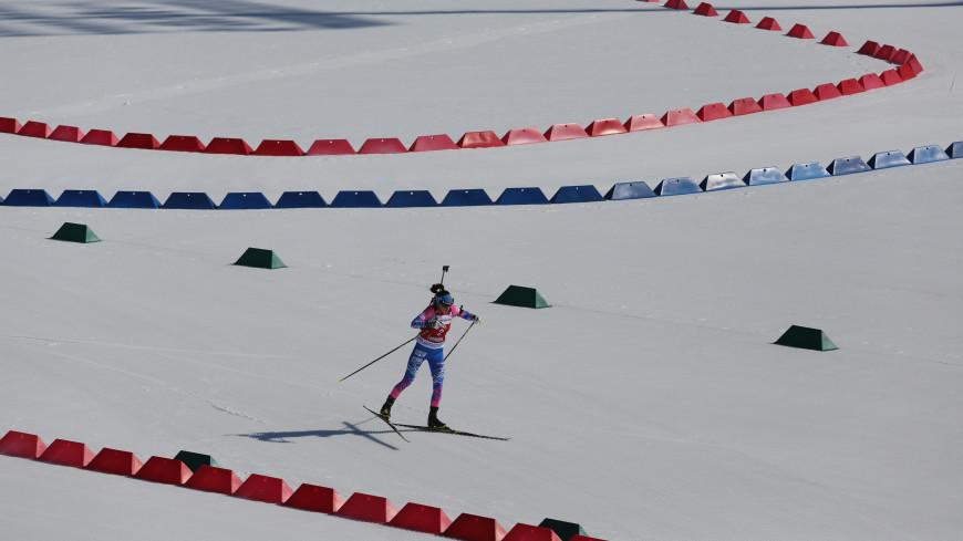 Российские биатлонистки выиграли эстафету на первом этапе Кубка IBU