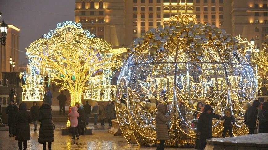 Онлайн-гид по новогодним улицам появился в Москве