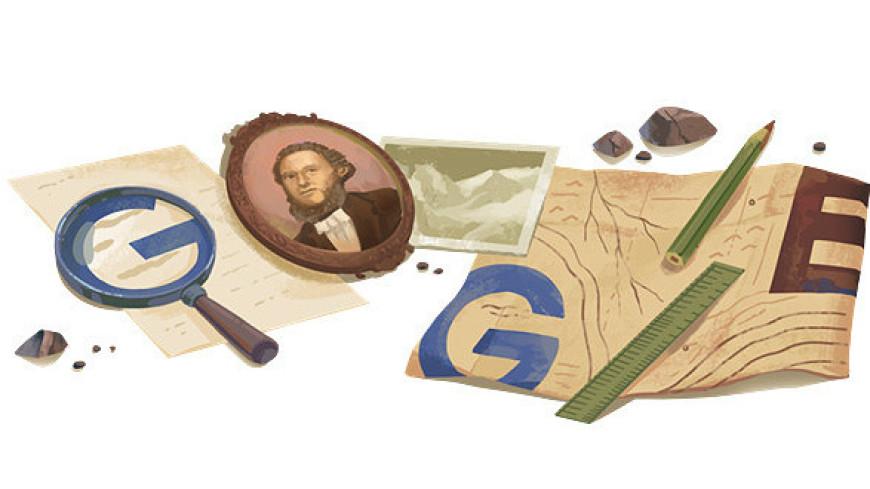Google отметил логотипом день рождения Семенова-Тянь-Шанского