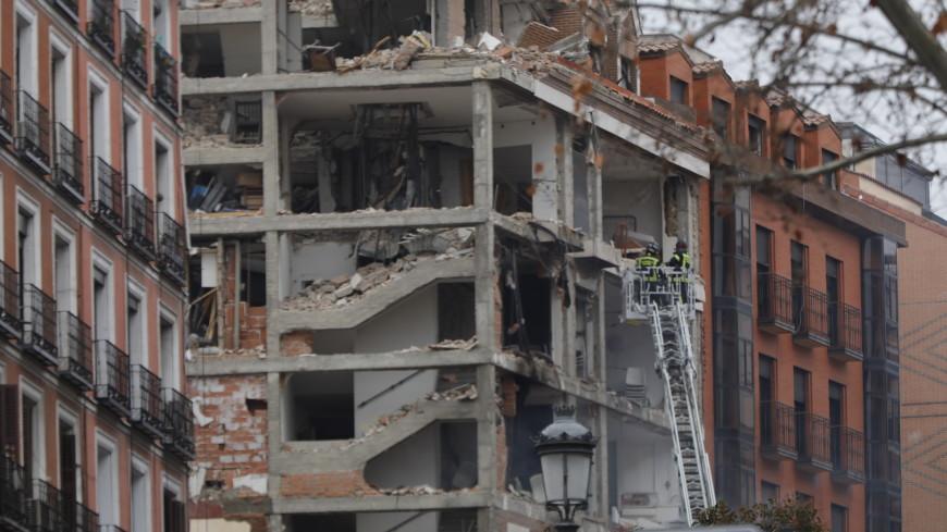 Взрыв в Мадриде произошел при осмотре рабочими газового оборудования
