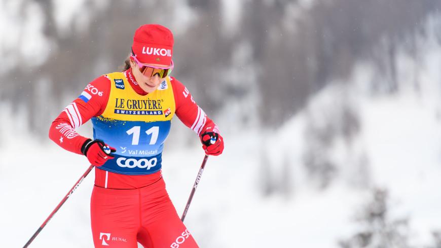Российская лыжница Непряева победила в масс-старте на шестом этапе «Тур де Ски»