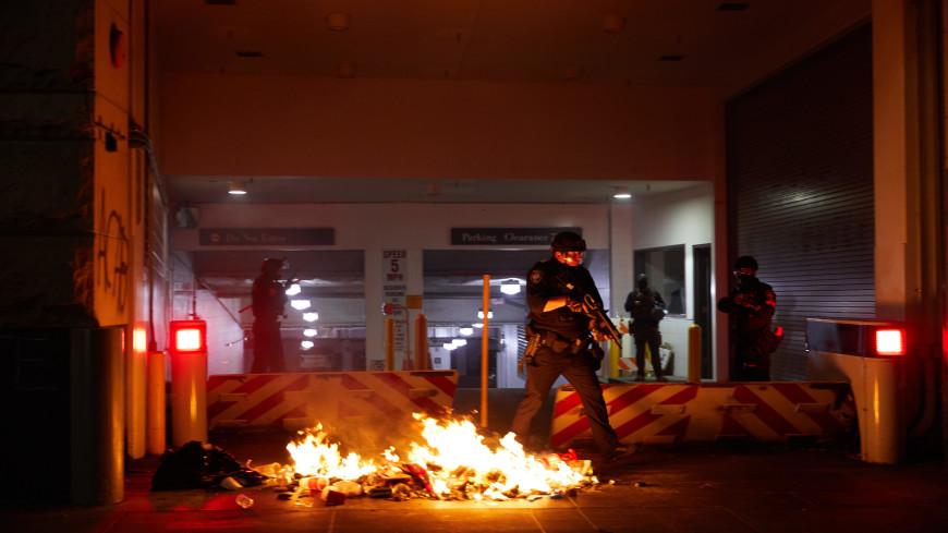 В Сиэтле и Портленде радикалы устроили беспорядки после инаугурации Байдена