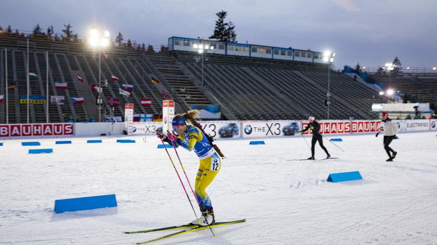 Спортдайджест: мороз и сильный снегопад стали проблемой для биатлонистов