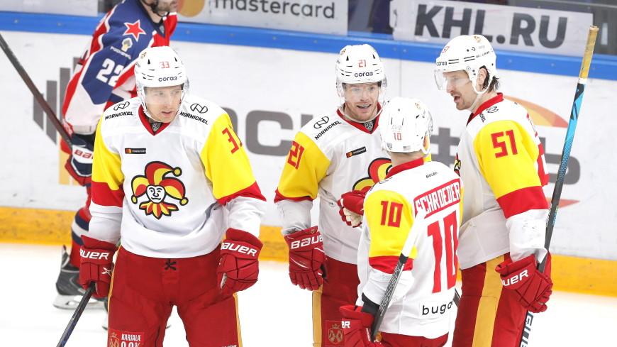 «Йокерит» прервал трехматчевую серию побед ЦСКА в КХЛ