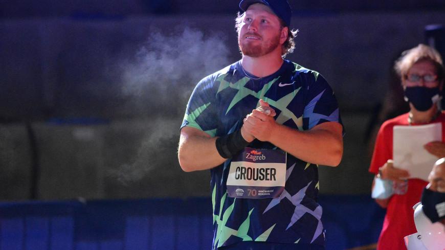 Легкоатлет Краузер побил рекорд 32-летней давности в толкании ядра в помещении