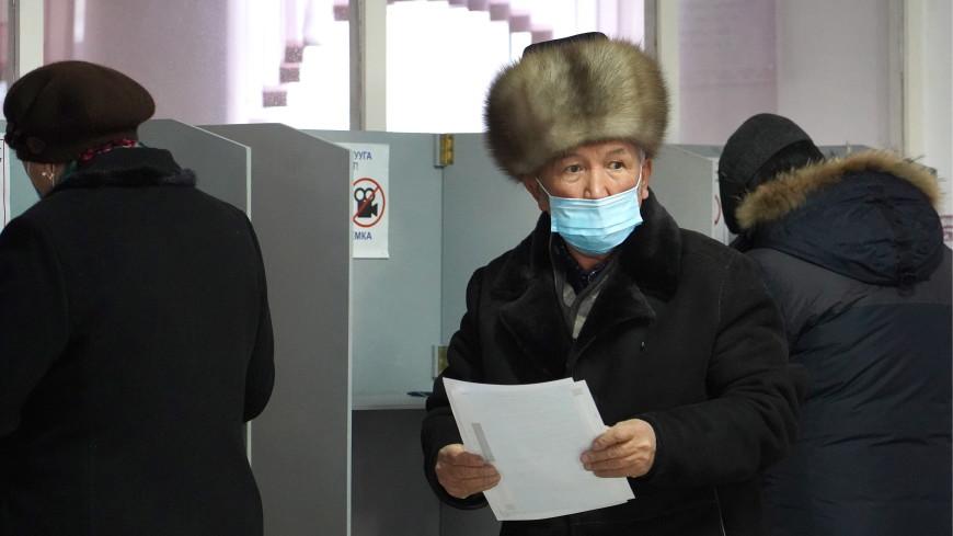 Явка на выборах президента Кыргызстана к закрытию участков составила 38,63%