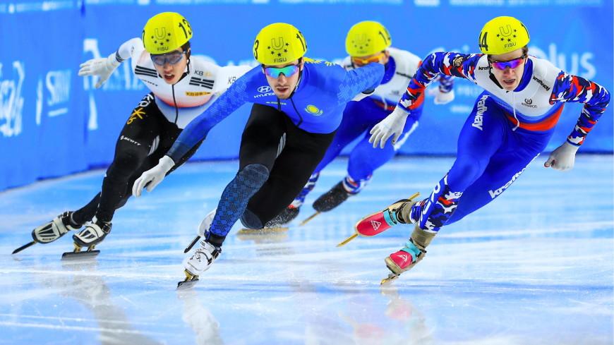 Ивлиев завоевал «золото» на дистанции 500 метров на ЧЕ по шорт-треку