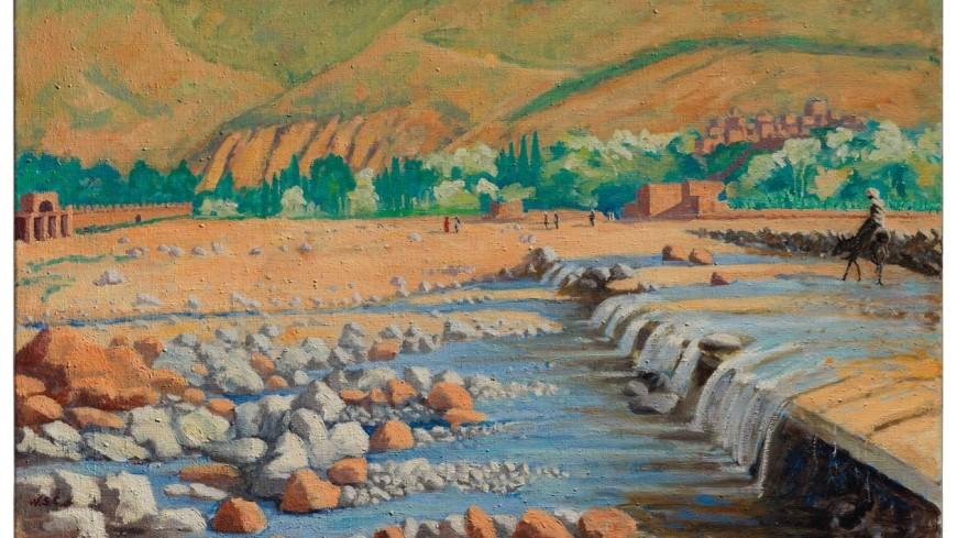 На аукционе Christie's продадут картину Черчилля «Сцена в Марракеше»