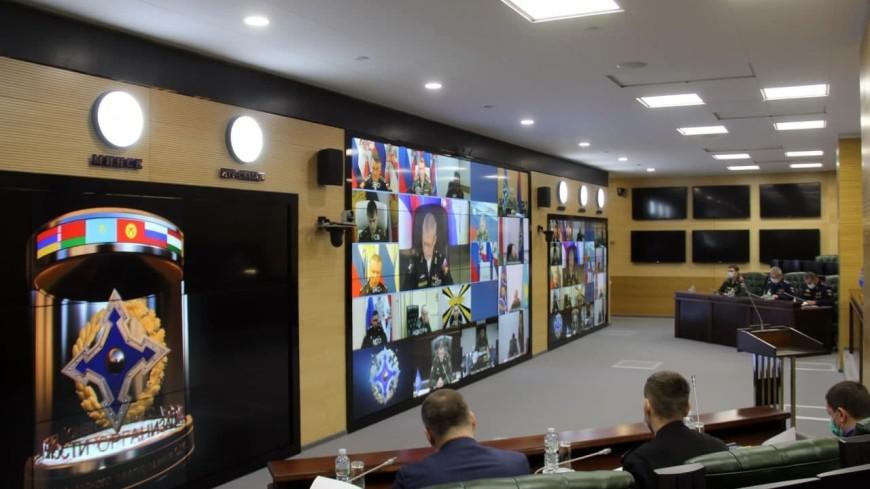 В ОДКБ обсудили план мероприятий на 2022 год