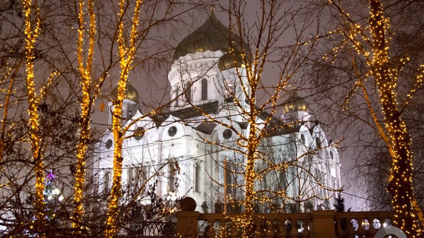 © Фото: «Мир 24», храм христа спасителя, рождество