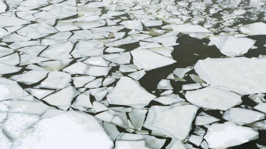 "Фото: Алан Кациев, ""«Мир24»"":http://mir24.tv/, весна, ледоход, льдины, лед, река, зима"