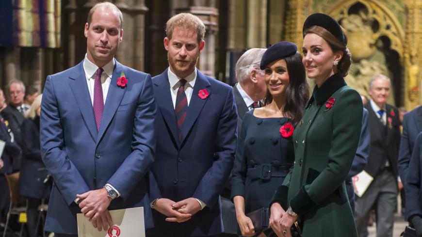 Королевский биограф рассказала об отношениях принцев Уильяма и Гарри