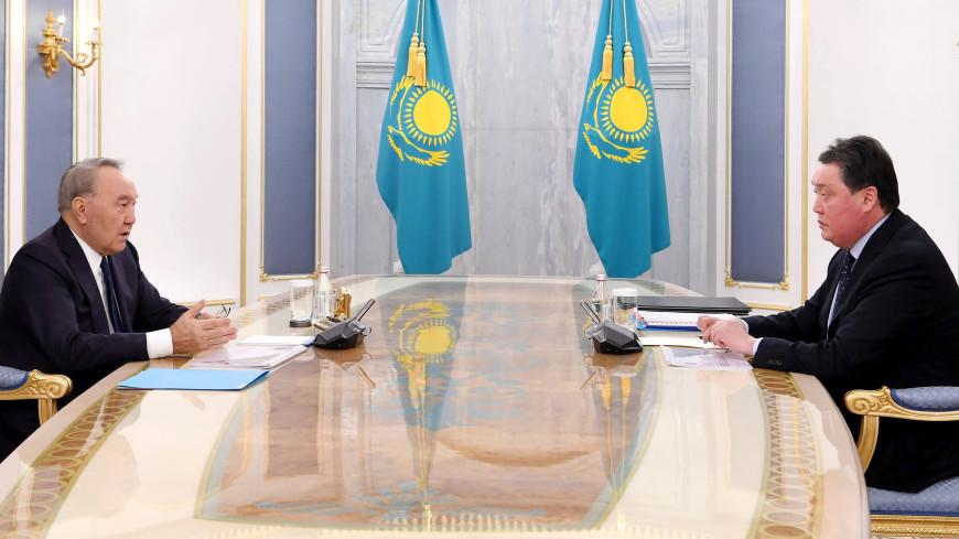 Мамин доложил Назарбаеву о результатах мер по стабилизации социально-экономической и эпидемиологической ситуации
