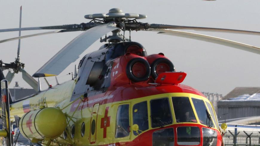 На Чукотке аварийную посадку совершил вертолет санавиации Ми-8