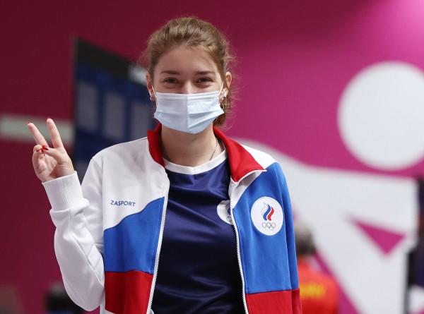 Стрелок Бацарашкина завоевала второе золото в стрельбе из пистолета на ОИ-2020