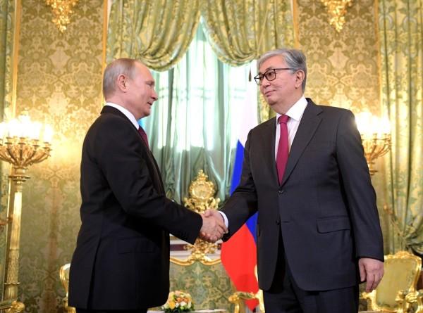 Вопросы сотрудничества и региональные проблемы обсудили президенты России и Казахстана