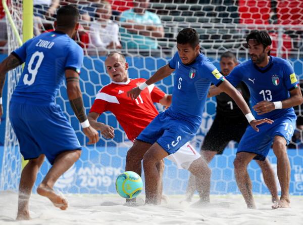 В России завершается подготовка к чемпионату мира по пляжному футболу