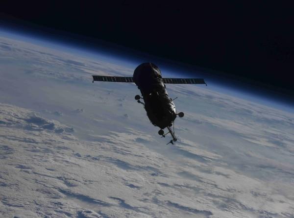 Космонавт Олег Новицкий снял первую отстыковку научного модуля от МКС