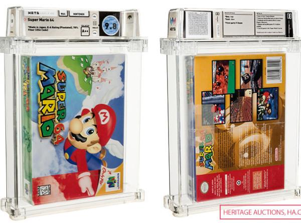 Картридж с нераспакованной игрой Super Mario был продан за $1,56 млн