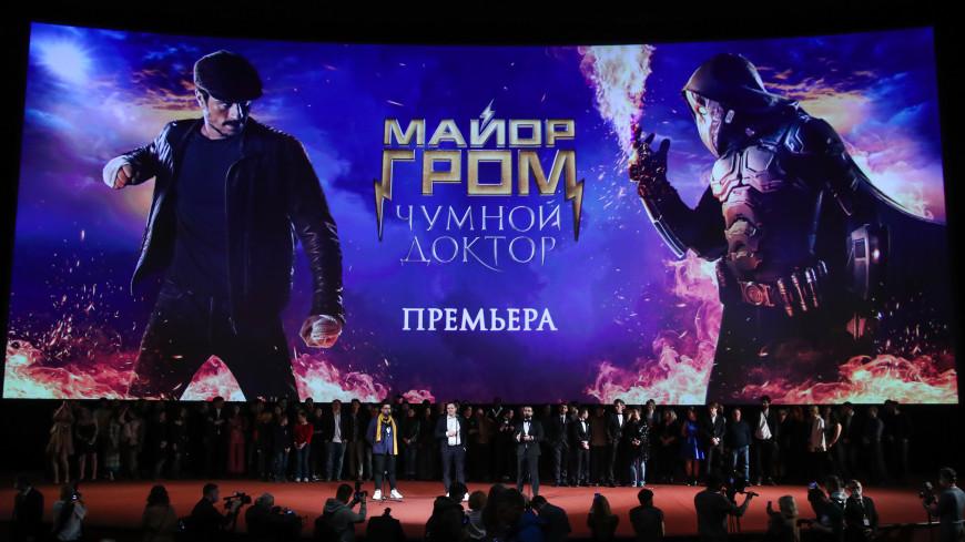 Фильм «Майор Гром: Чумной Доктор» после старта вышел в лидеры Netflix
