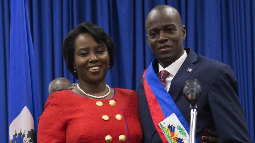 Вдова президента Гаити выступила с первым заявлением после его убийства