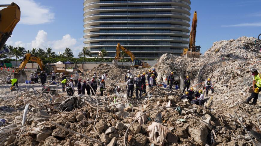 Число жертв обрушения дома во Флориде увеличилось до 90