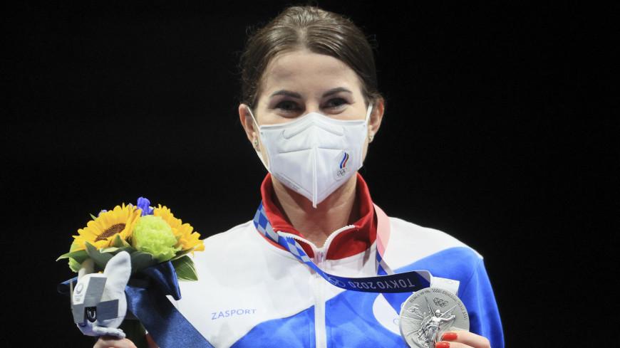Российская рапиристка Дериглазова взяла серебро на Играх в Токио