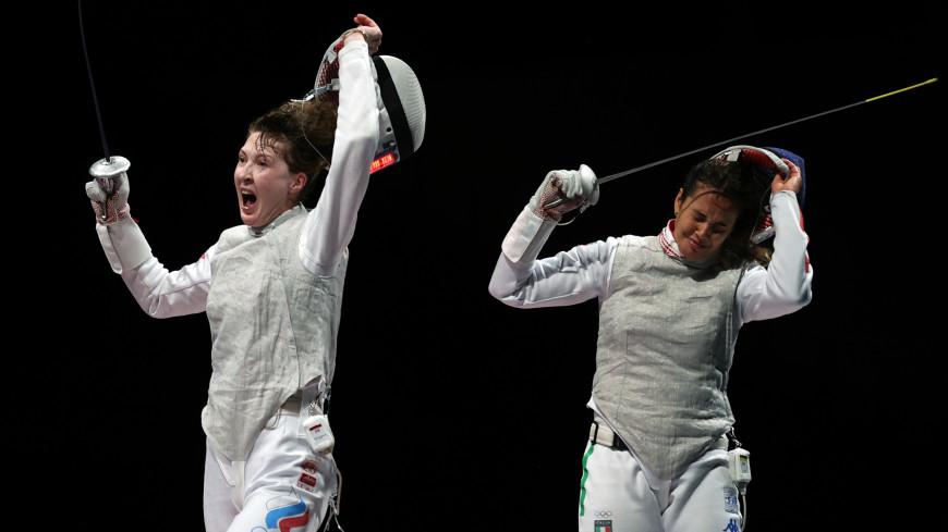 Рапиристка Коробейникова принесла бронзу в копилку России на Олимпиаде в Токио